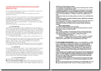 Les organisations internationales, sujets dérivés du droit international public