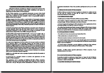 L'appartenance des Etats membres à l'Union européenne - Plan détaillé