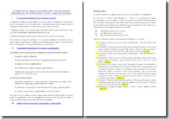 L'indemnité de rupture conventionnelle : les nouveautés apportées par les ordonnances Macron, approche pratique