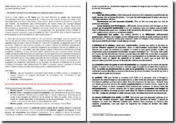 Banque Mondiale : Le droit d'informer, Chapitre 9 : L'industrie des médias : les fondements des communications de masse - Bruce Owen (2005)