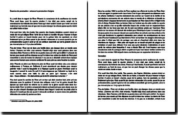 Exercice de ponctuation : correction d'un texte sur l'artiste River Phoenix