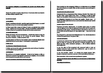 Les structures collégiales et consultatives du pouvoir sous Charles VIII et Louis XII - Arlette Jouanna (2012)