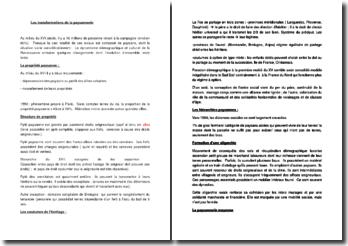 Les transformations de la paysannerie - Arlette Jouanna (2012)