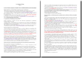 La constitution de l'Europe - Jürgen Habermas, 2012
