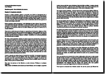 La seconde Révolution française : 1965-1984, quatrième partie, chapitres 10 à 12 - Henri Mendras (1988)