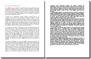 Classes et stratifications sociales : définitions et enjeux