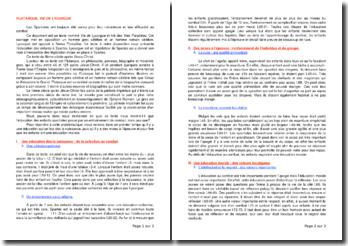 Vies parallèles, Vie de Lycurgue - Plutarque (IIe siècle après J.-C.)