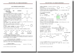 Les composés aromatiques