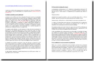 Les caractéristiques générales du contrat ou marché de partenariat