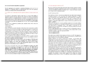 Les normes financières législatives organiques
