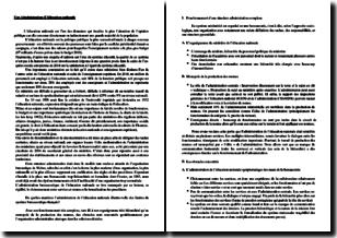 De quelles manières l'administration de l'éducation nationale illustre-t-elle des limites du système bureaucratique français ?