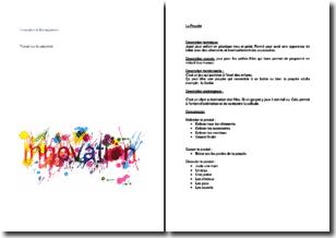 Innovation et management : travail créatif sur les thèmes de la poupée et des repas en famille