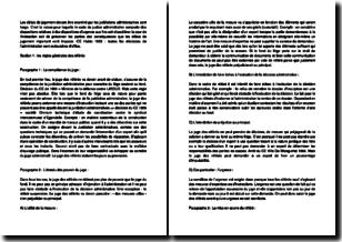 Contentieux administratif : les caractères et règles des référés