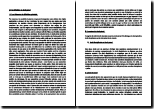 La définition et le contenu du droit pénal
