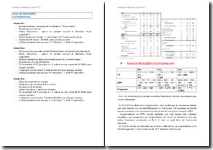Analyse financière : le cas de l'entreprise Web Design