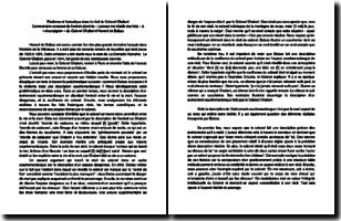 Le Colonel Chabert - Honoré de Balzac (1844) : réalisme et fantastique