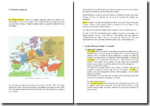 Féodalité et seigneurie en Europe médiévale