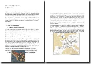 Le rôle de l'Eglise en Occident (Xe-XIIIe siècles)
