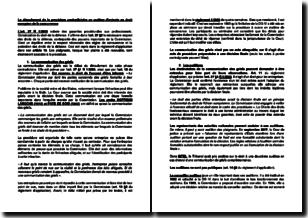 Le déroulement de la procédure contradictoire en matière d'entente en droit européen de la concurrence
