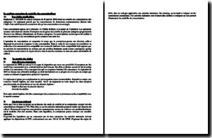 Traité sur le fonctionnement de l'Union européenne (TFUE) - Le système européen de contrôle des concentrations