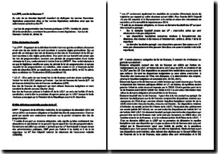 La loi de programmation des finances publiques (LPFP), une loi de finances ?