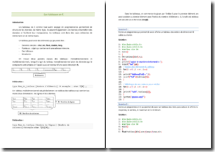 Langage de programmation : maîtriser les tableaux en C