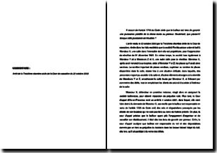 Cour de cassation, troisième chambre civile, 22 octobre 2003 - La responsabilité du bailleur