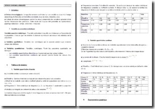 Les séries chronologiques en statistiques
