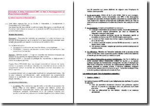 Information en milieu professionnel : le milieu Éducation et Motricité (EM)