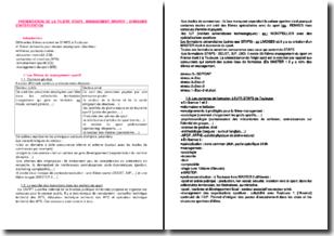 Présentation de la filière STAPS Management sportif - Domaine d'intervention