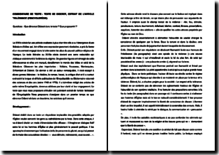 Encyclopédie, extrait de l'article Tolérance - Diderot (1772)
