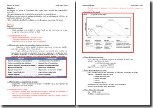 Phases et gestion d'un projet