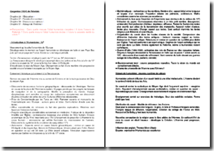 Gargantua, chapitres 23, 27, 50 et 57 - Rabelais (1534)