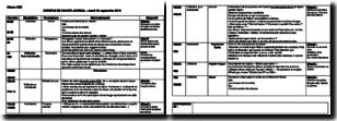 Exemple de cahier journal de CE2 pour professeur des écoles