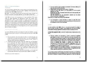 Droit civil : le droit des contrats spéciaux
