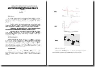 Préparation de nanofils et nanoparticules de l'hétérostructure Bi12TiO20/BiFeO3 avec haute activité photocatalytique pour la dégradation de l'orange de méthyle