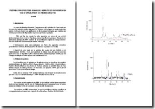 Préparation d'oxydes à base de bismuth et de niobium en vue d'application en photocatalyse