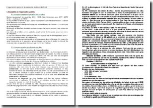 L'organisation spatiale et la construction territoriale du Brésil