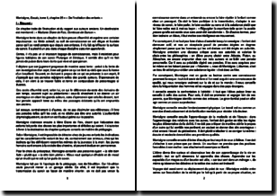 Essais, tome 1, chapitre 25, De l'institution des enfants - Montaigne (1580)