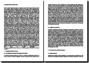 L'acte du congrès de Vienne (9 juin 1815)