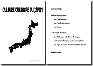 La culture culinaire du Japon