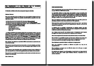 Note complémentaire à la lettre d'intention au jury de consultation architecturale pour un projet de crèche et résidence seniors services