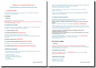 Propriété intellectuelle : propriété industrielle et droit d'auteur