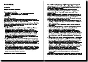 Droit des collectivités territoriales (ou collectivités locales)