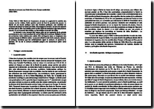 Libertés et censures aux Etats-Unis et en Europe occidentale (1945-1991)
