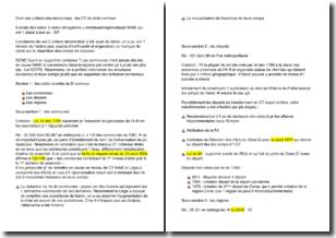 Droit des collectivités territoriales- Les collectivités territoriales de droit commun