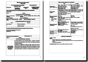 Fiche E4 de communication commerciale (BTS Négociation Relation Client) - Prise de rendez-vous téléphonique pour un prêt immobilier