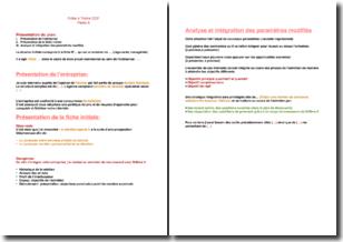BTS NRC - Fiche E4 : trame (CCF)