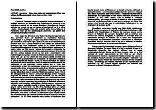 Para uma crítica da epistemologia (Pour une critique de l'épistémologie) - Dominique Lecourt (1980)