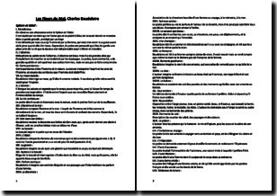Les Fleurs du Mal - Charles Baudelaire (1857) - Résumé poème par poème